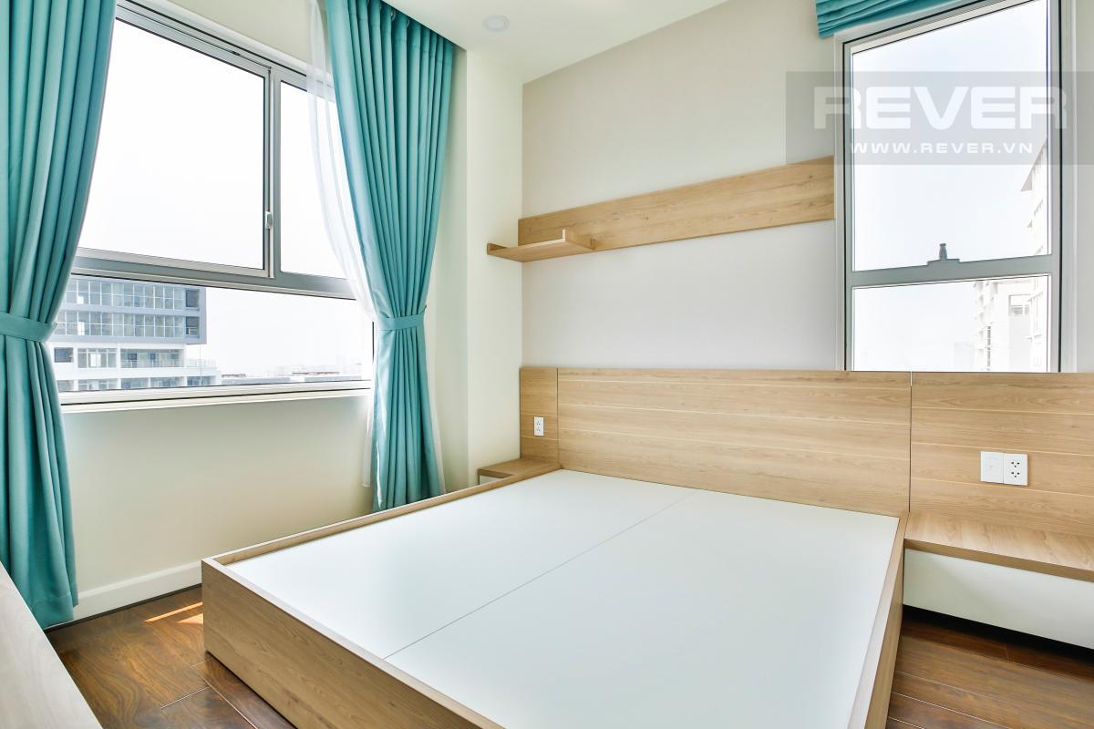 Phòng ngủ ở vị trí góc Căn góc tầng cao hướng Tây Nam tháp LB Lexington Residence