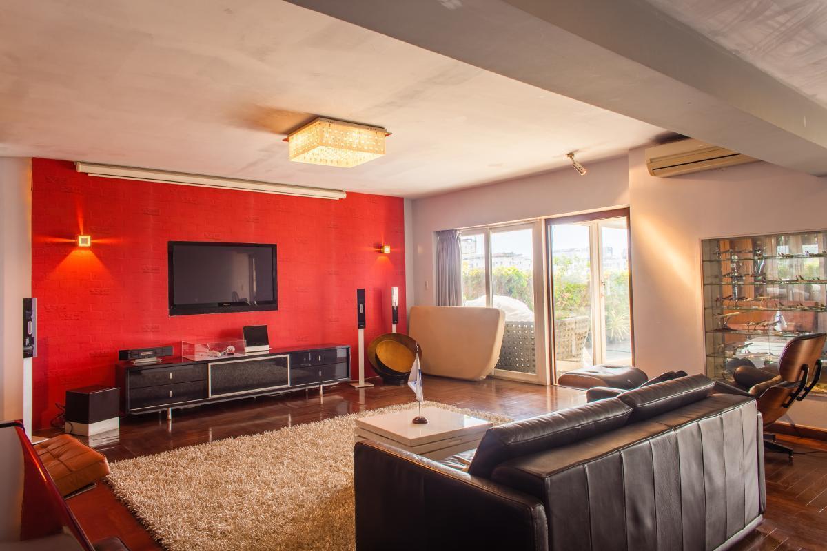 Phòng khách Penthouse hướng Bắc AE Mỹ Khánh 2