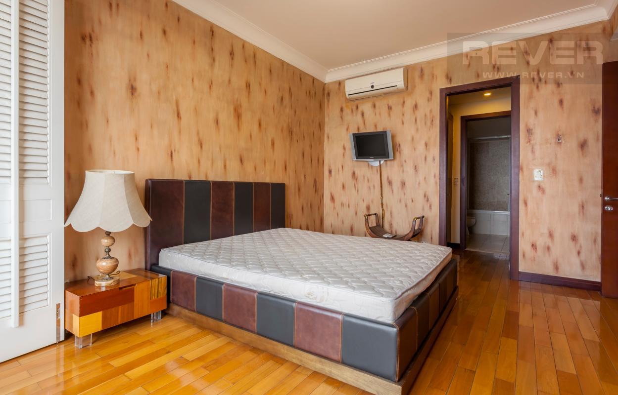 Phòng ngủ chính Căn hộ hướng Tây Bắc tầng cao tháp AE The Manor