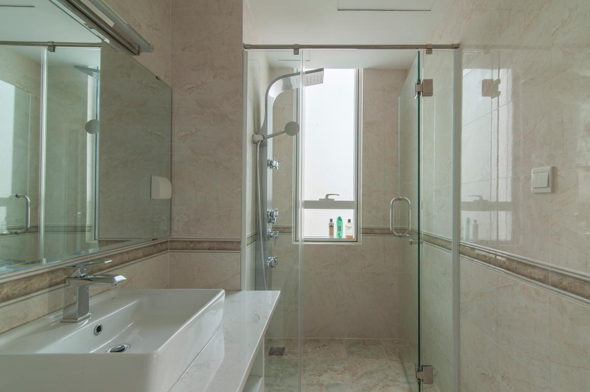 Phòng tắm 2 Căn hộ Đông Bắc trung tầng TC1 Tropic Garden
