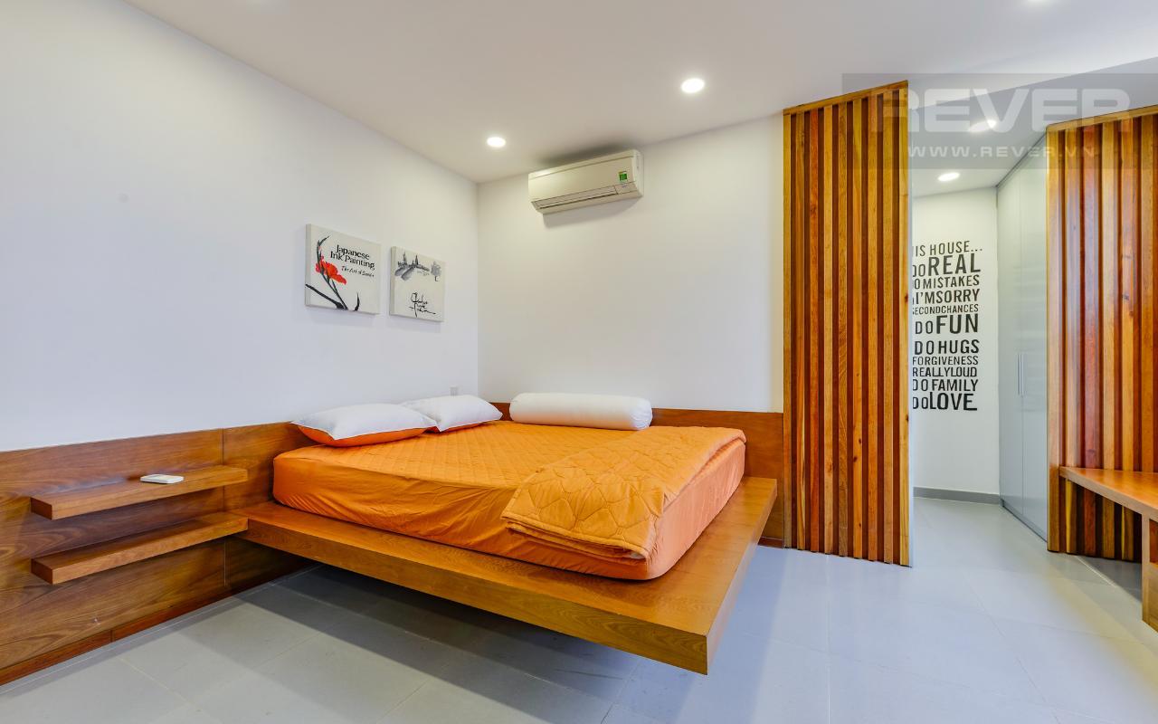 Phòng ngủ ở tầng trên.jpg Lofthouse tháp M Star Hill Phú Mỹ Hưng