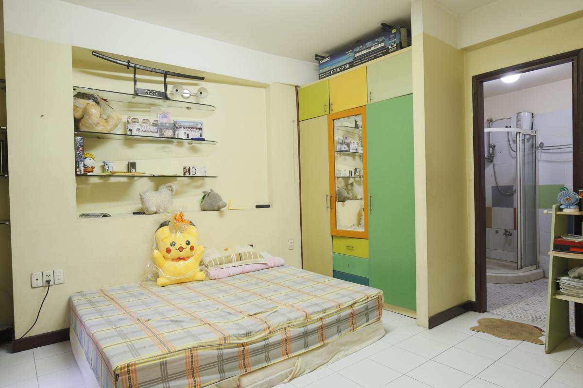 Phòng ngủ 1 Nhà 3,5 tầng hẻm Phan Xích Long Phú Nhuận
