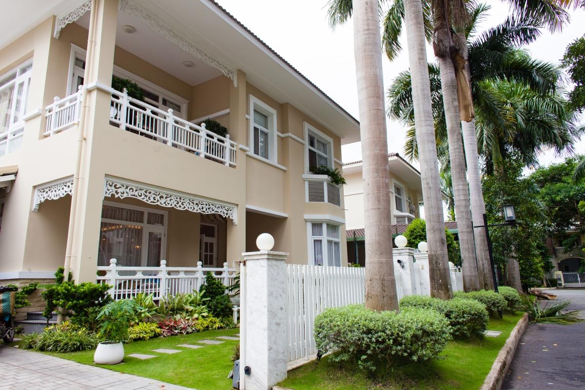 Villa 2 tầng đơn lập Mỹ Phú 1A