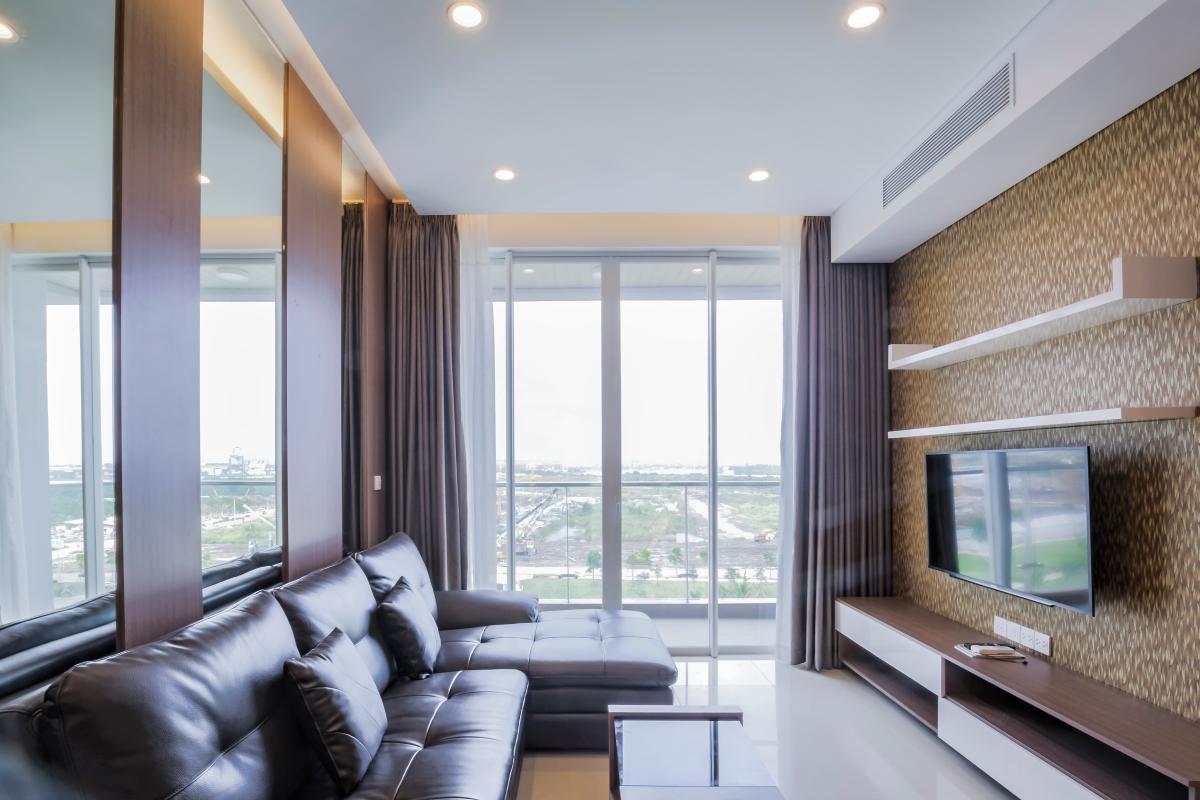 Phòng khách Căn hộ B1 Sarimi Sala Đại Quang Minh