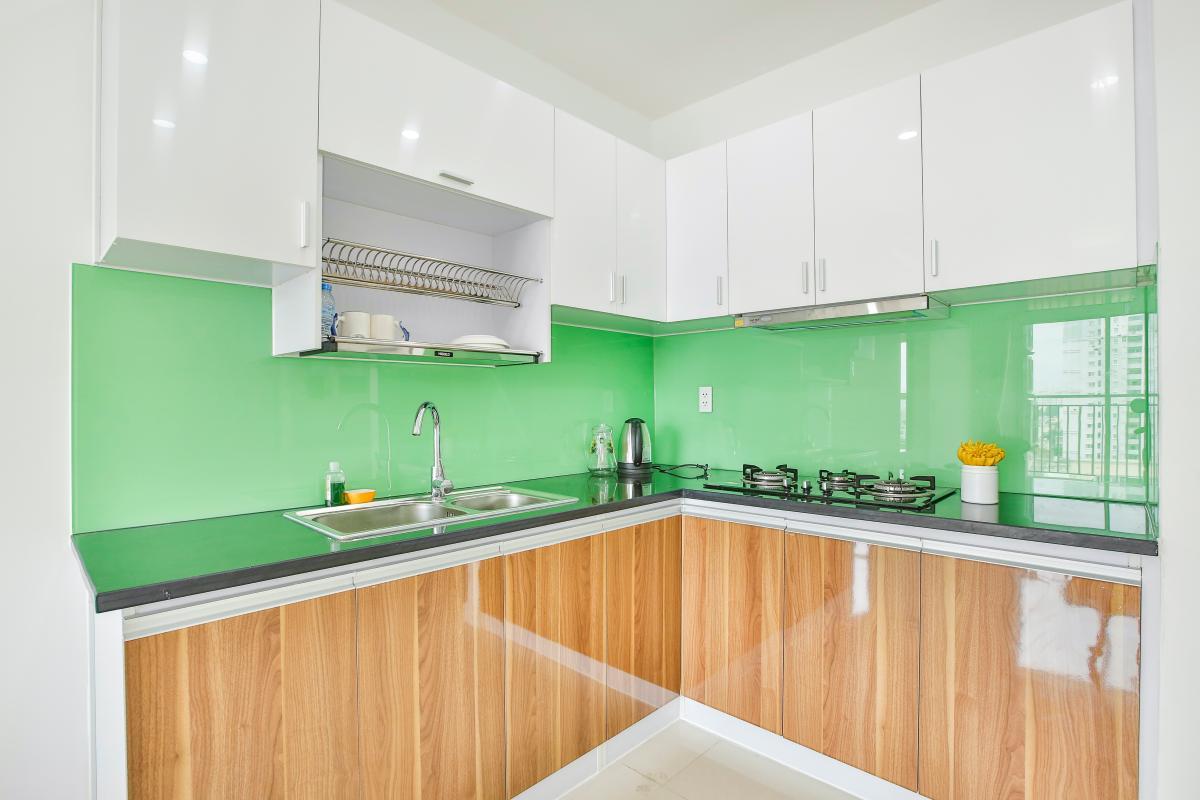 Phòng bếp Căn hộ trung tầng G1 Galaxy 9
