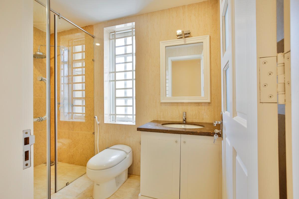 Nội thất phòng tắm Villa 3 tầng Lương Định Của Thủ Thiêm