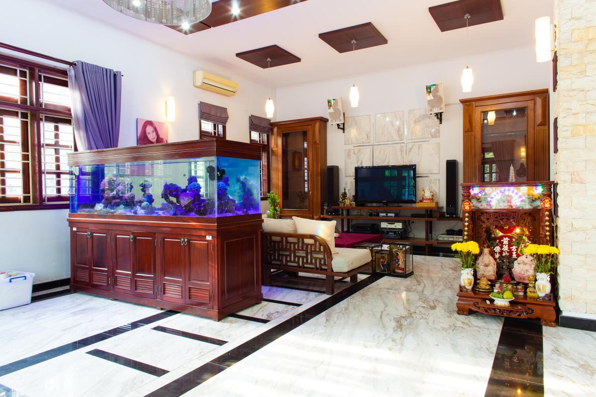 Phòng khách Villa 3 tầng đường Số 20 Linh Đông Thủ Đức