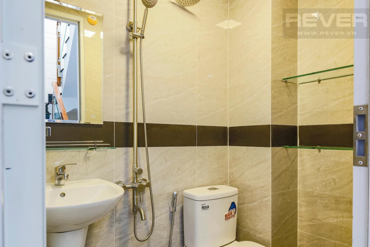 Phòng tắm Nhà 4 tầng hẻm Chu Văn An Bình Thạnh