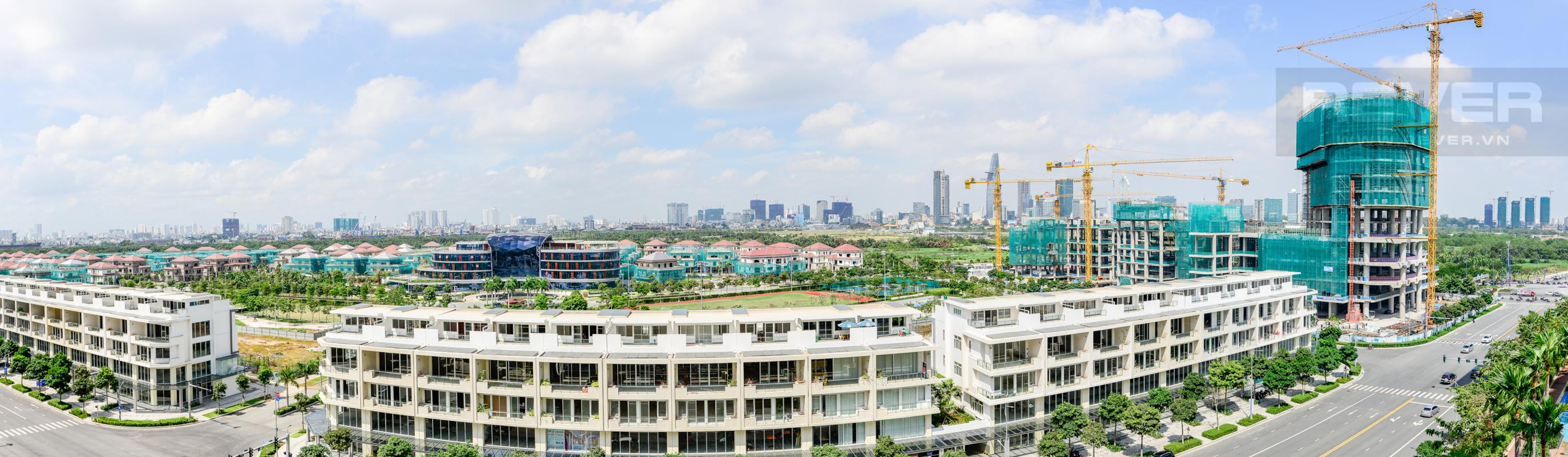 Cảnh quan Sala Đại Quang Minh nhìn từ căn hộ Căn hộ A1 Sarimi hai phòng ngủ, nhìn về trung tâm thành phố