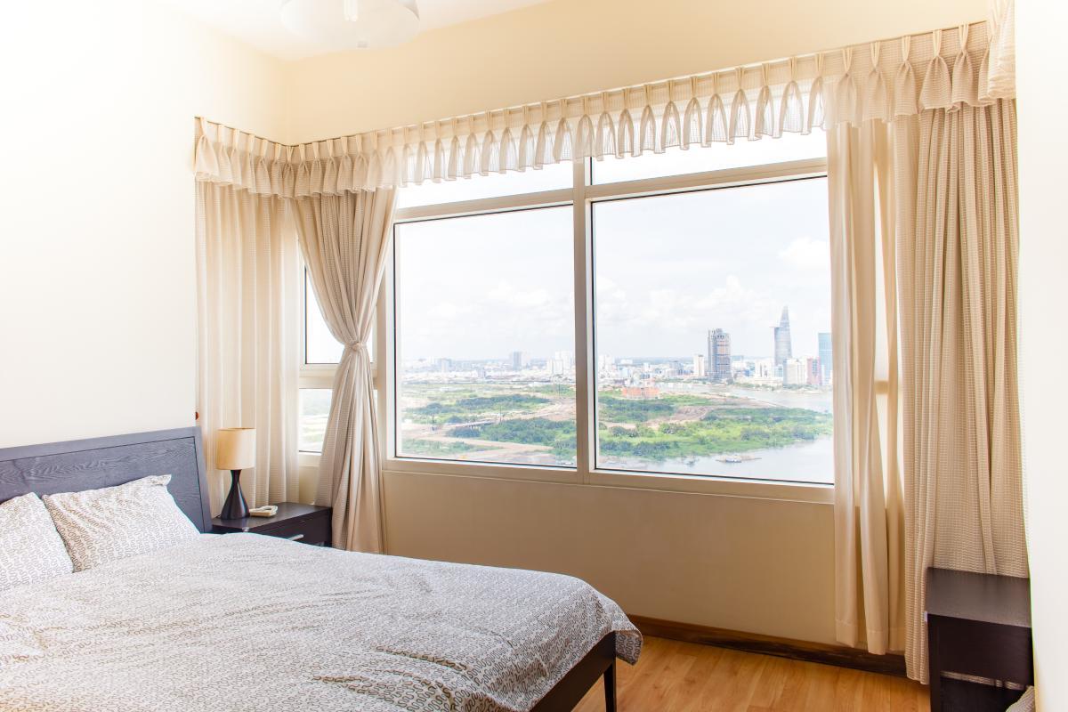 Phòng ngủ Căn hộ tầng cao Ruby 2 Saigon Pearl