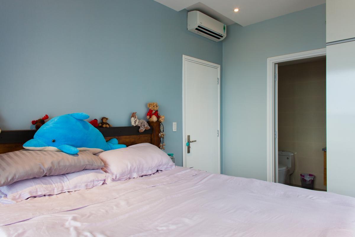 Phòng ngủ Căn hộ tầng cao tháp TC1 Tropic Garden