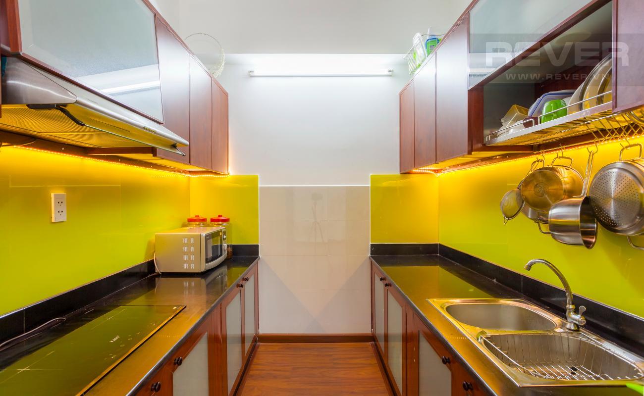 Phòng bếp Căn hộ hướng Tây Bắc tầng cao tháp A Chung cư Khang Gia