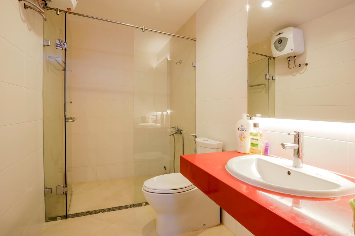 Phòng tắm Căn góc hướng Tây Nam tháp D Riverside Residence