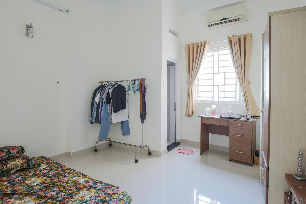 Phòng ngủ phụ Nhà phố Nguyễn Khoái 4 tầng kiên cố