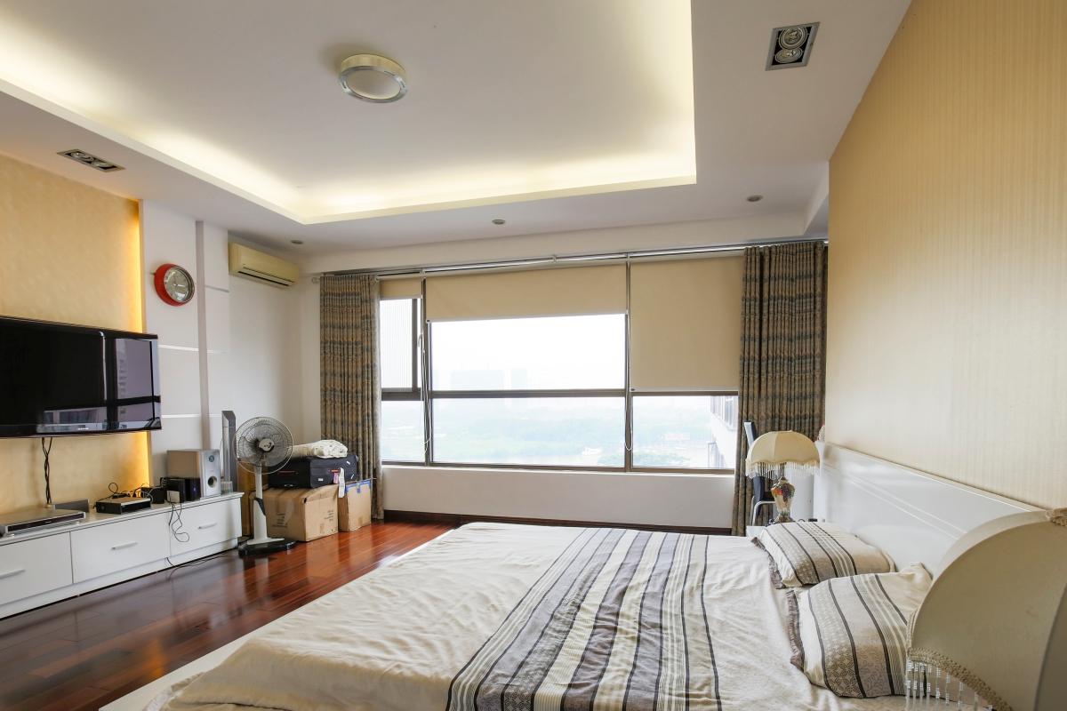 Nội thất phòng ngủ chính Căn góc tầng cao tháp B The Panorama