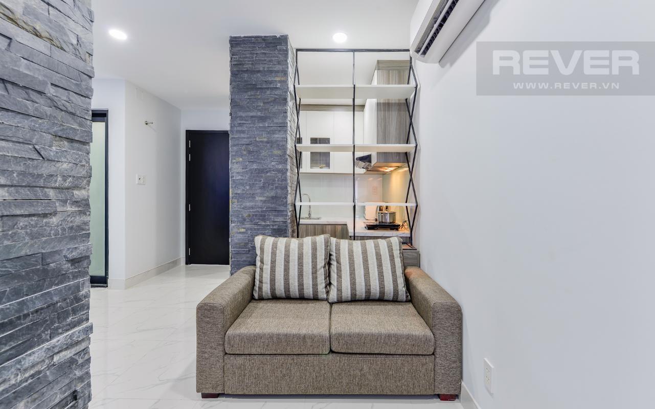 Phòng khách gọn gàng của phòng diện tích nhỏ M & T Building cho thuê phòng đủ nội thất, nhiều diện tích sử dụng