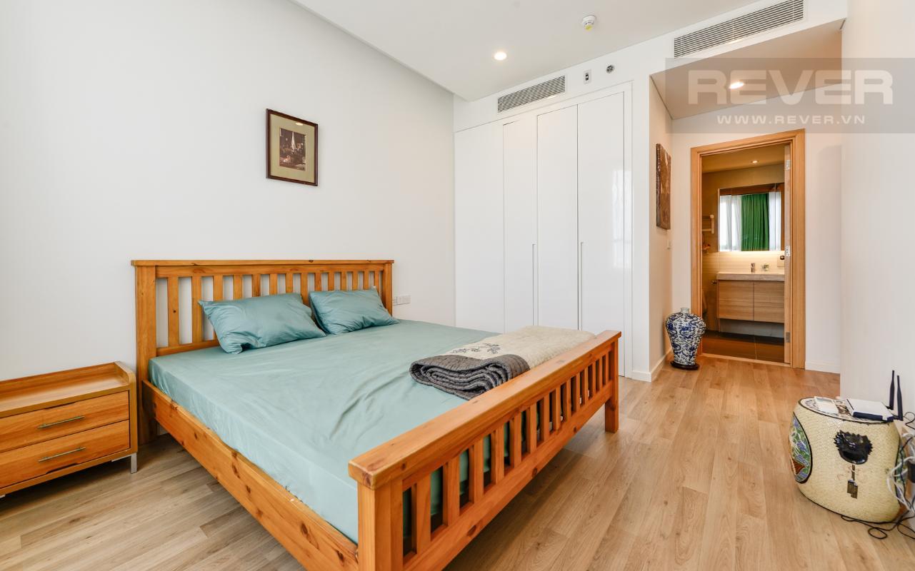 Phòng ngủ 2 Căn hộ A1 Sarimi hai phòng ngủ, nhìn về trung tâm thành phố