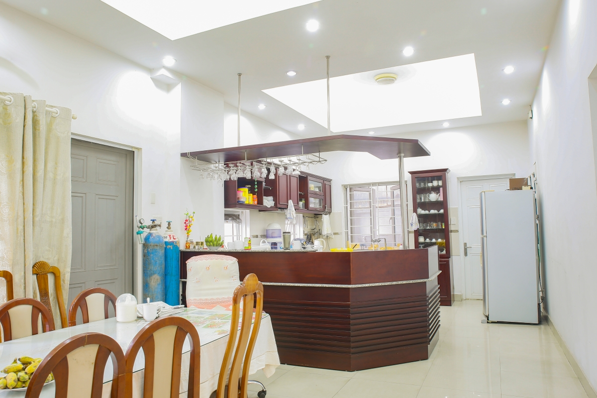Phòng bếp Villa 4 phòng ngủ Thảo Điền Quận 2