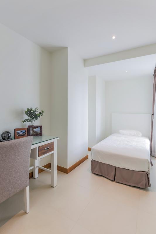 Phòng ngủ nhỏ Căn duplex trung tầng Tower 3 Brilliant Đảo Kim Cương