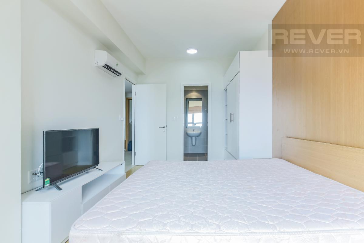 Phòng ngủ 3 có kệ TV Căn góc tầng cao T1A Masteri Thảo Điền