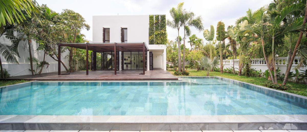 Hồ bơi Villa Lily Thảo Điền Compound