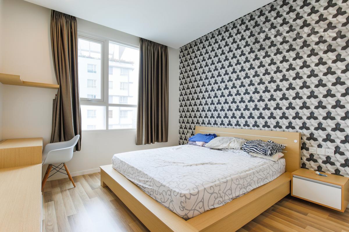 Phòng ngủ 1 Căn hộ Sarimi tầng thấp B1 hướng  Tây Nam, 3 phòng ngủ