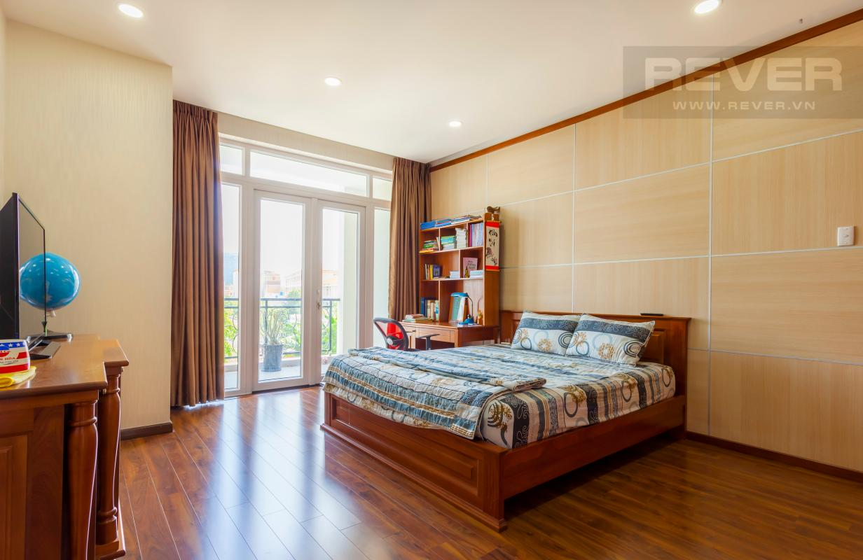 Phòng ngủ nhỏ Villa 3 tầng Đường Số 14 Hoàng Quốc Việt