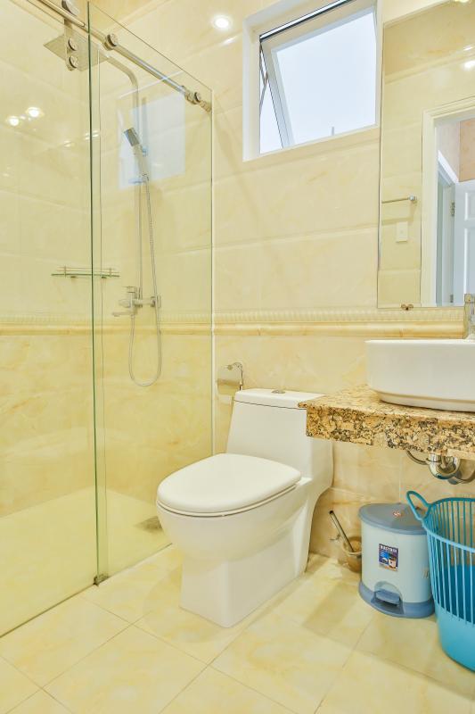 Phòng tắm Căn hộ dịch vụ 55m2 Spring Apartment