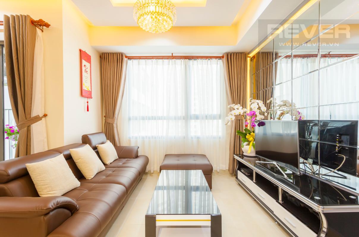 Phòng khách Căn hộ tầng cao T3B Masteri Thảo Điền