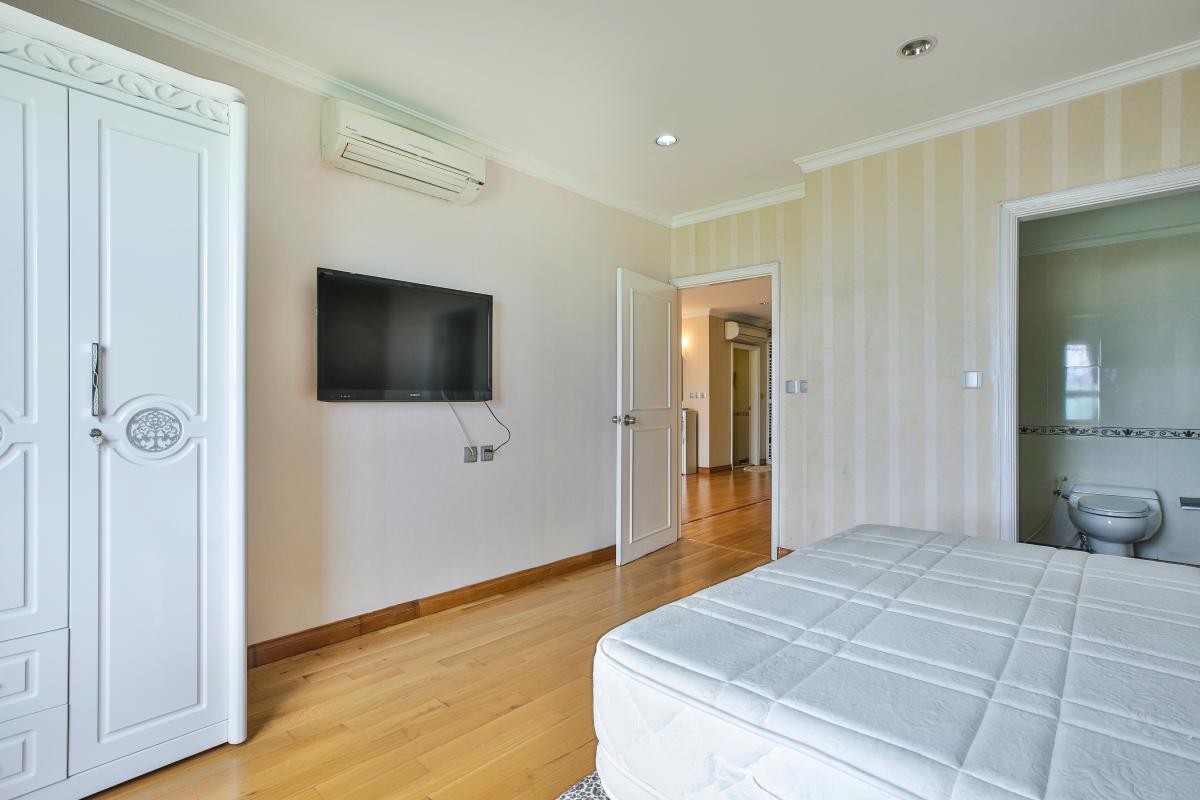 Phòng ngủ lớn Căn hộ trung tầng tháp B Flemington