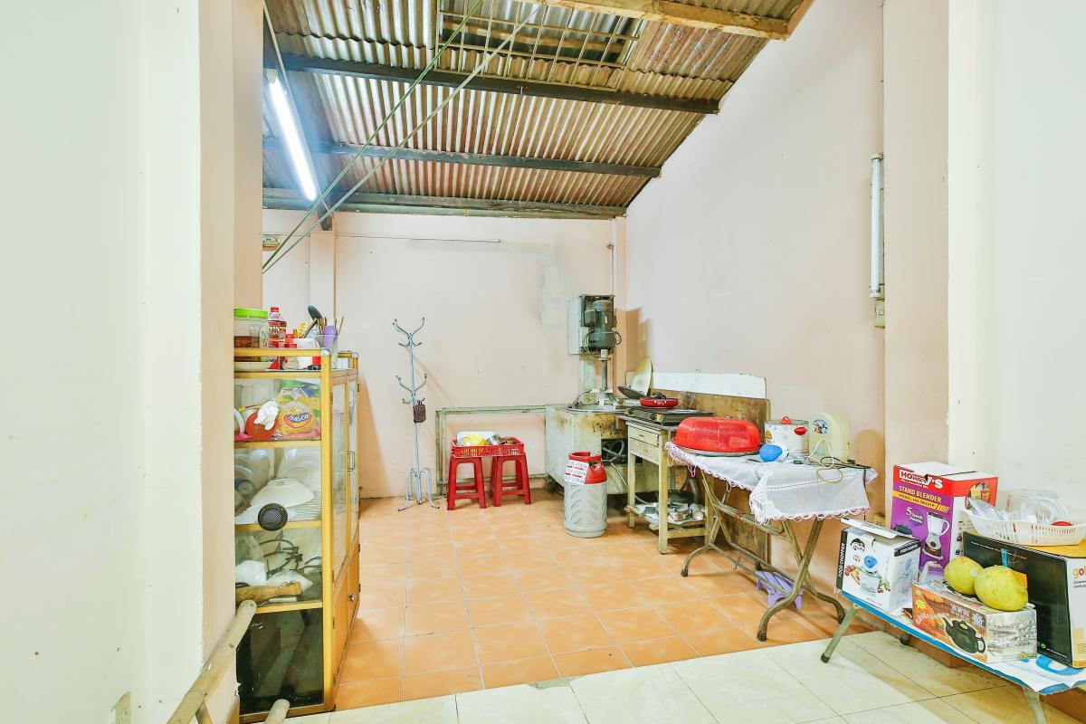 Phòng bếp tầng 3 Nhà 3,5 tầng hẻm Trần Văn Kỷ Bình Thạnh