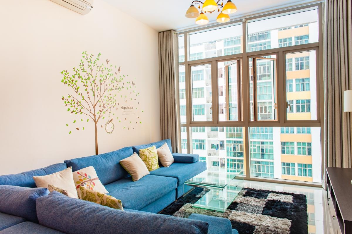 Căn hộ 2 phòng ngủ tháp T1 The Vista An Phú