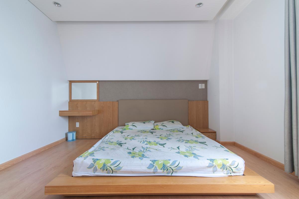 Phòng ngủ 1 Căn góc tầng cao B Satra Eximland