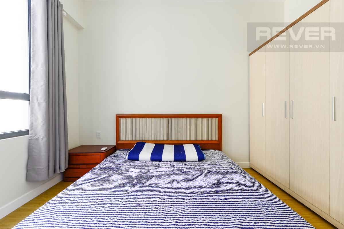 Phòng ngủ chính Căn hộ Masteri Thảo Điền tầng cao T1A hướng Đông Bắc, đủ nội thất