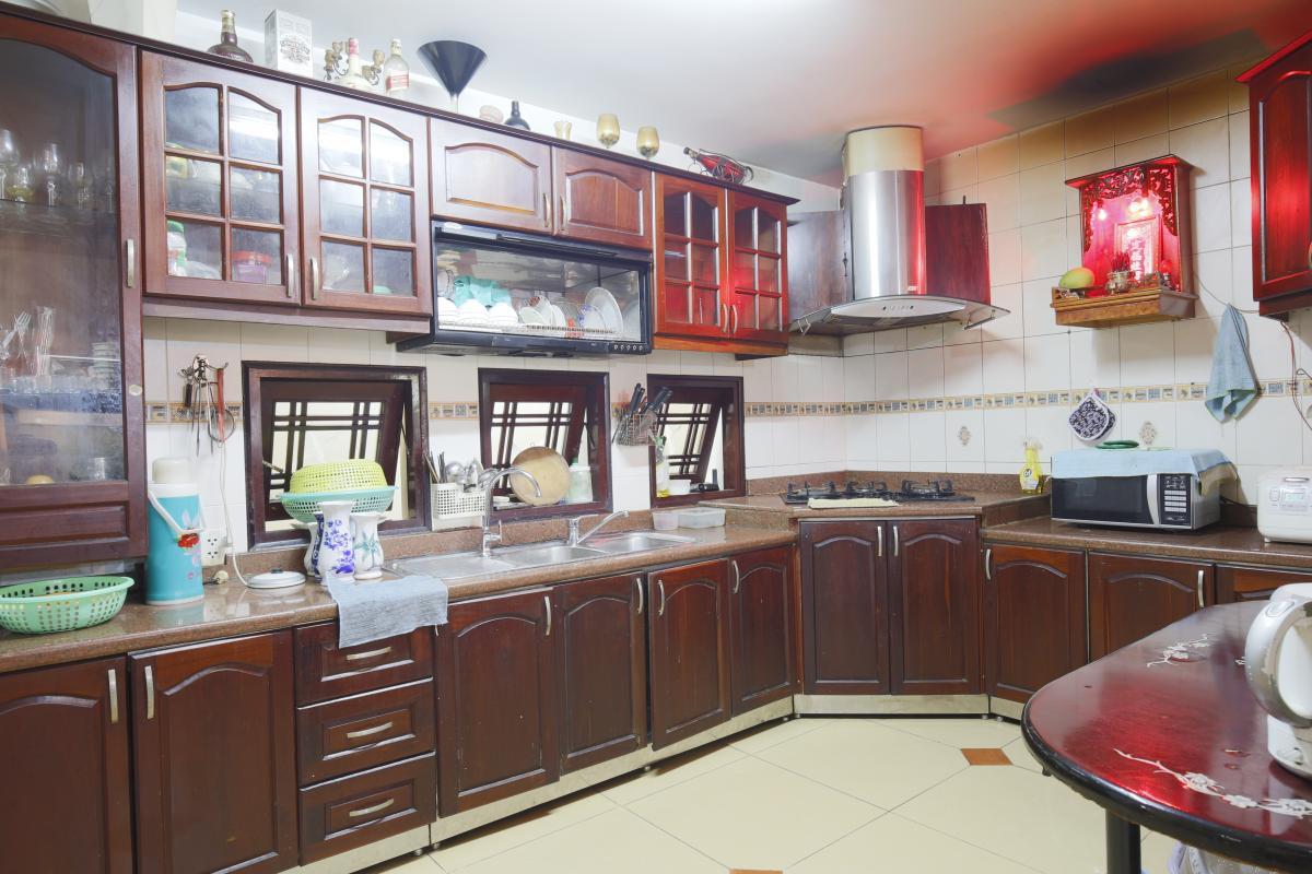 Phòng bếp Nhà 3,5 tầng hẻm Phan Xích Long Phú Nhuận