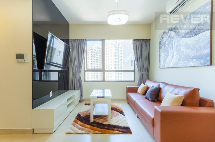 Căn hộ tầng cao 2 phòng ngủ T4B Masteri Thảo Điền