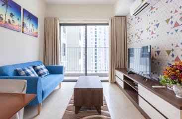Căn hộ Masteri Thảo Điền 2 phòng ngủ tầng cao tháp T1