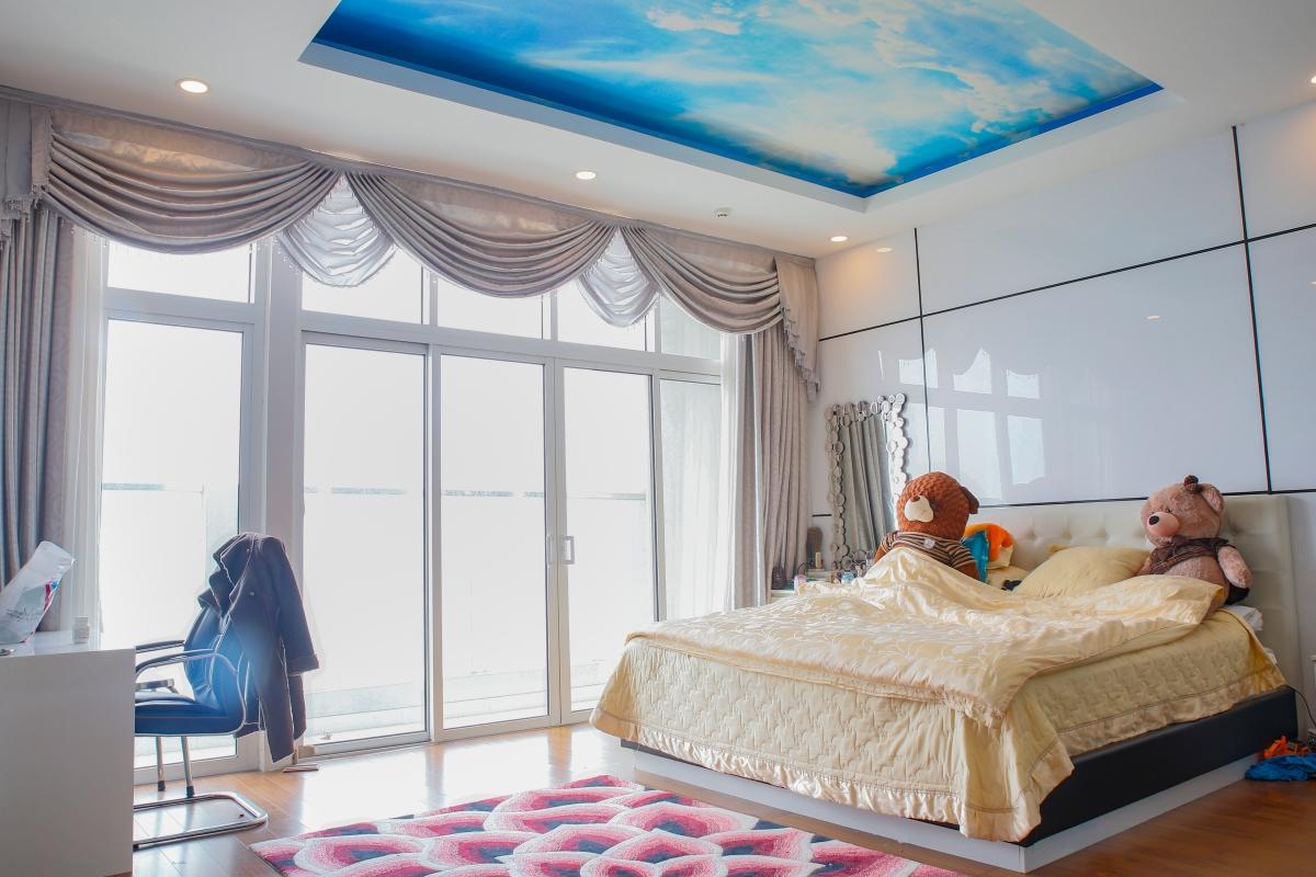 Phòng ngủ trẻ trung Penhouse tháp W2 Sunrise City