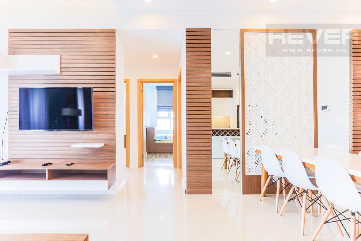 Hành lang dẫn vào các phòng ngủ Căn hộ Sarimi Sala Đại Quang Minh hướng Tây và tầng cao tháp B1