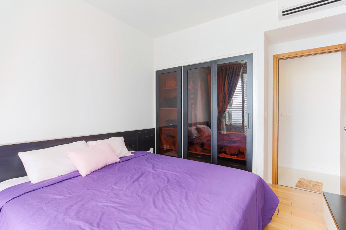 Phòng ngủ chính Căn hộ tầng cao V4 Sunrise City
