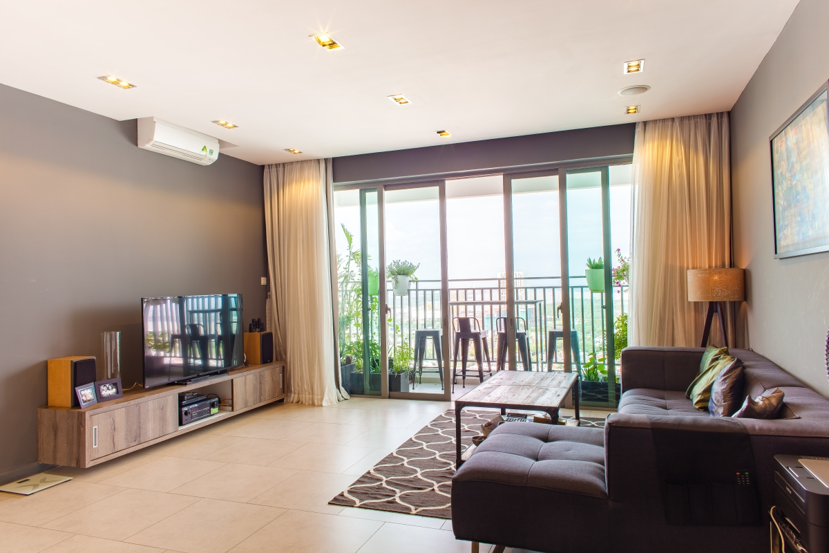 Căn hộ tầng cao T4 Riviera Point