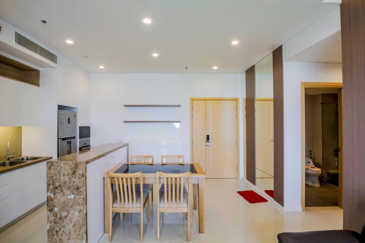Phòng bếp Căn hộ B1 Sarimi Sala Đại Quang Minh