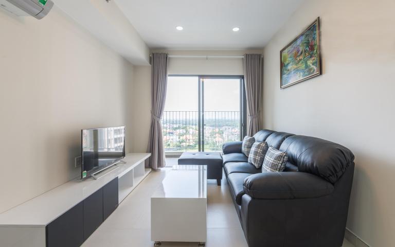 Căn hộ Masteri Thảo Điền tầng cao T5A hướng Đông Bắc, 2 phòng ngủ
