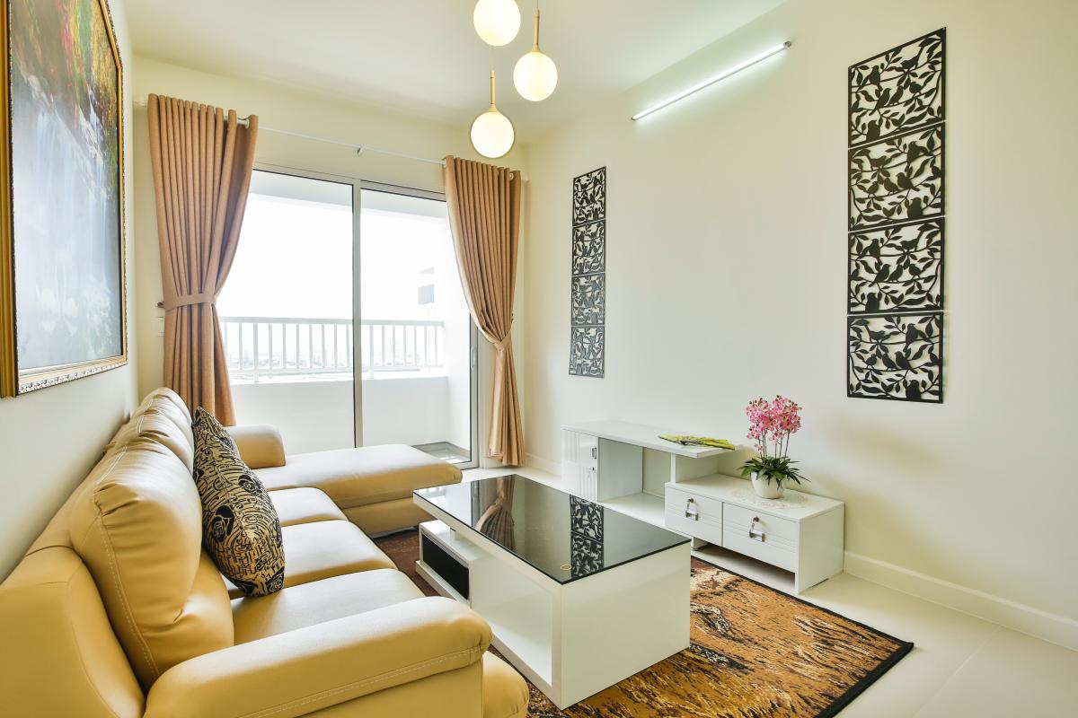 Nội thất phòng khách độc đáo Căn hộ tầng cao LB Lexington Residence