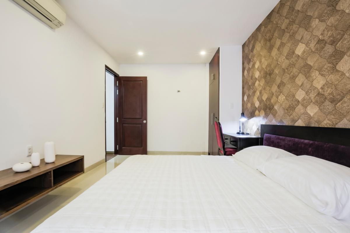 Phòng ngủ chính Căn hộ hướng Đông Bắc Võ Văn Tần