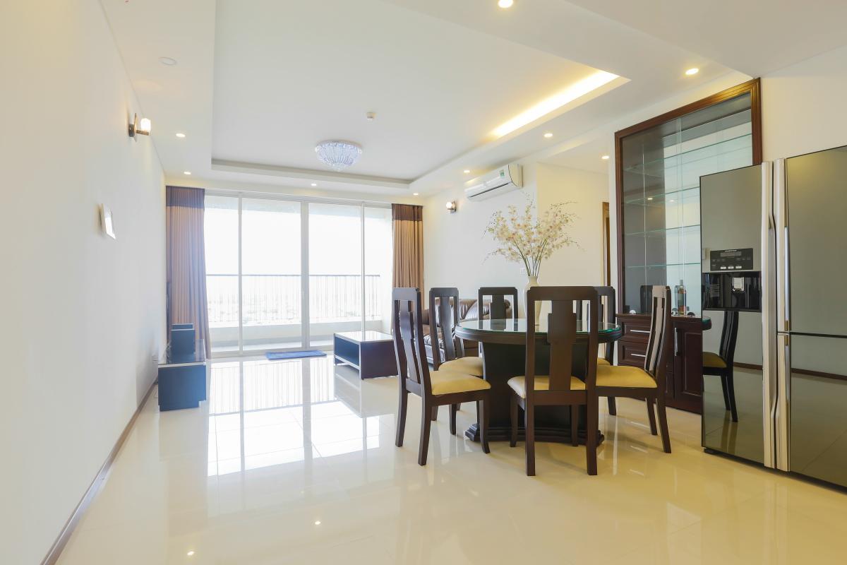 View nội khu Căn hộ tầng cao tháp B Thảo Điền Pearl