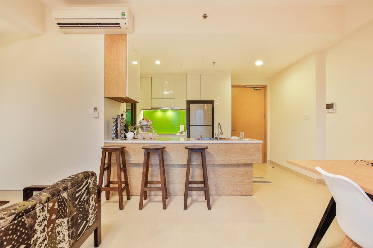 Phòng bếp Căn hộ tháp T4 Masteri Thảo Điền