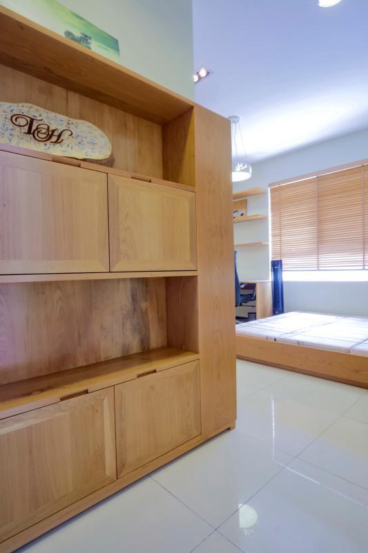 Tủ quần áo phòng ngủ chính Căn hộ tầng cao Flemington