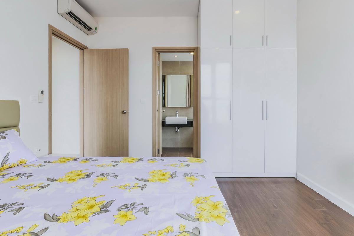 Phòng ngủ Căn góc tầng cao P1 Prince Residence