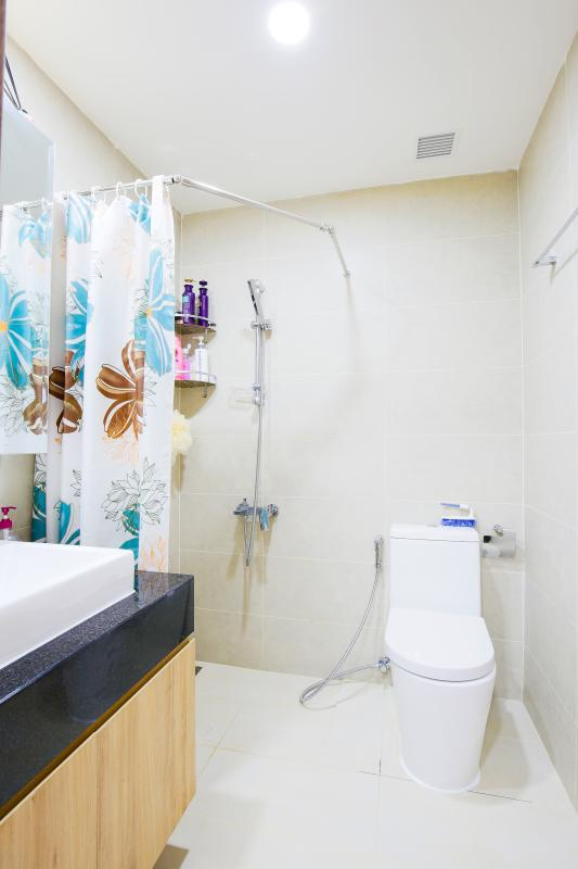 Phòng tắm Căn hộ Galaxy 9 tầng thấp G1 2 phòng ngủ, đủ nội thất